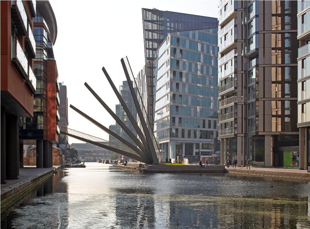 Merchant Square Footbridge/倫敦/英國/旅遊