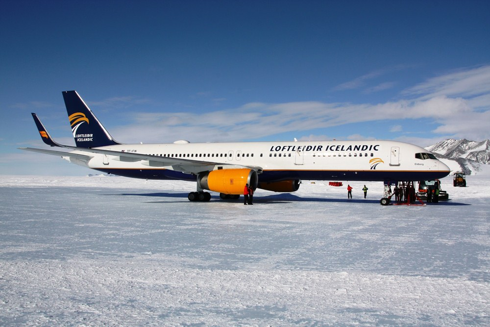 Loftleidir Icelandic/南極/旅遊/飛機