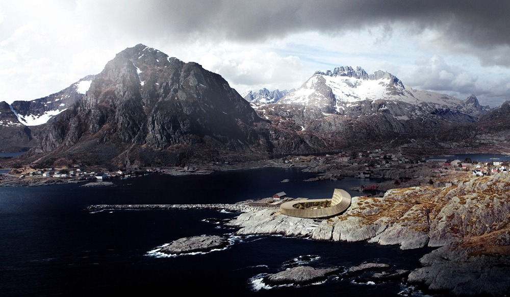 Snøhetta/羅浮敦群島/挪威/旅遊