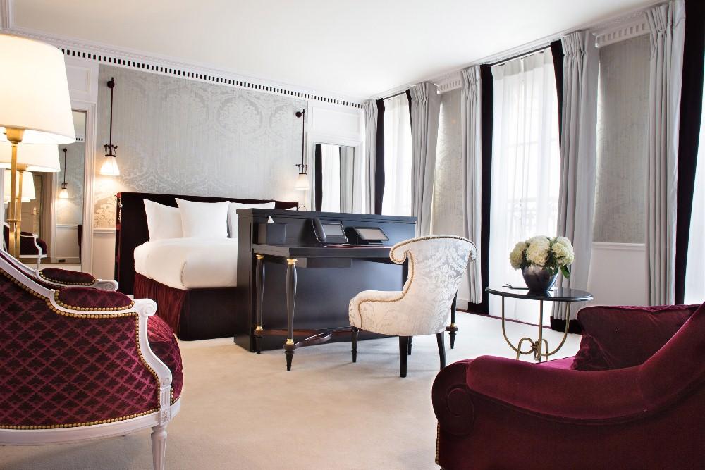 客房/La Réserve Paris/巴黎/法國/奢華旅宿/絕景飯店