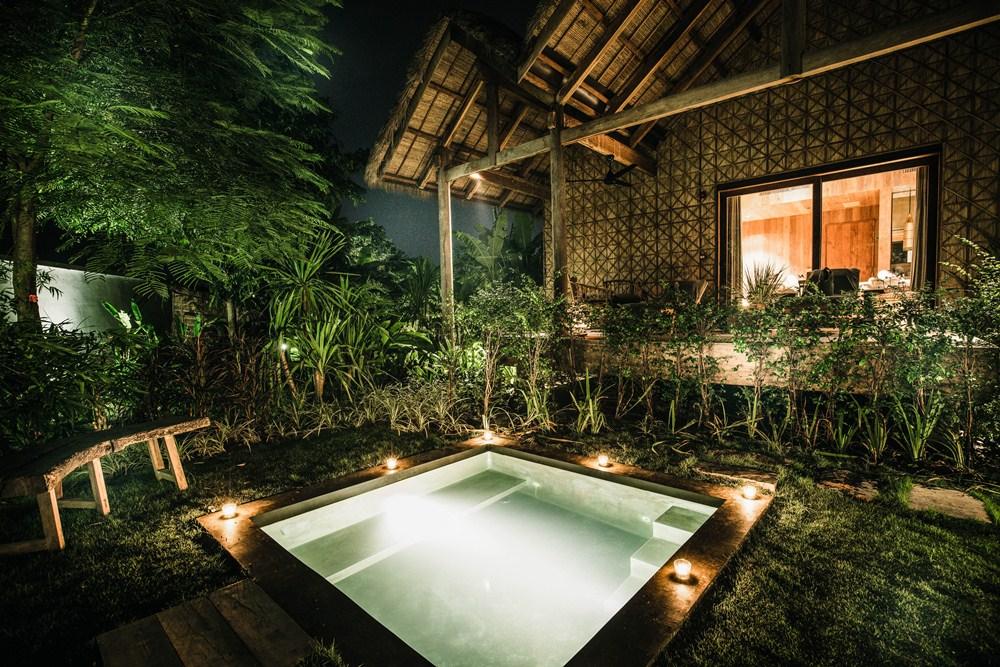 私人泳池/Phum Baitang/吳哥窟/柬埔寨/絕景飯店