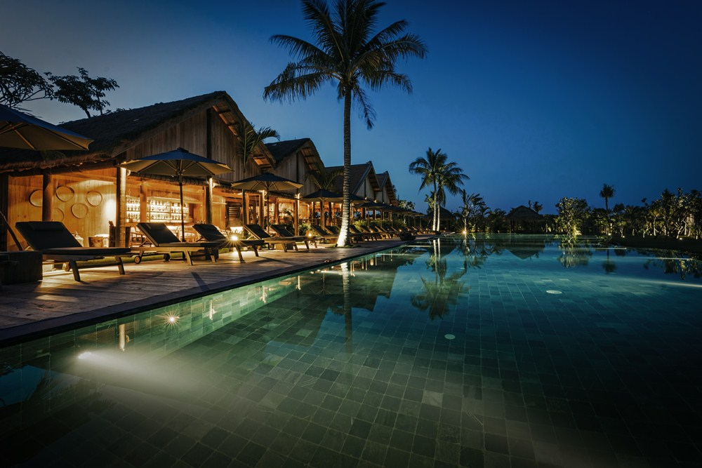 泳池/Phum Baitang/吳哥窟/柬埔寨/絕景飯店