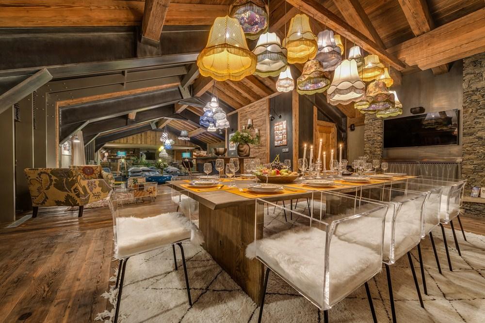 餐廳/小木屋/Chalet Husky/法國/滑雪勝地/絕景飯店