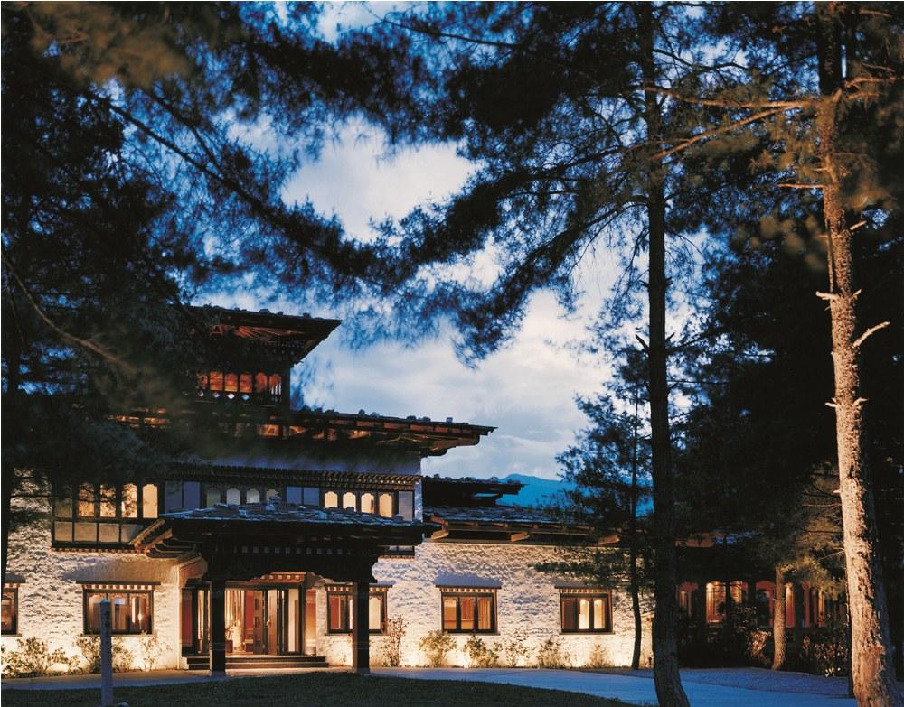 外觀/COMO Hotels and Resorts/帕羅河谷/不丹/奢華旅宿