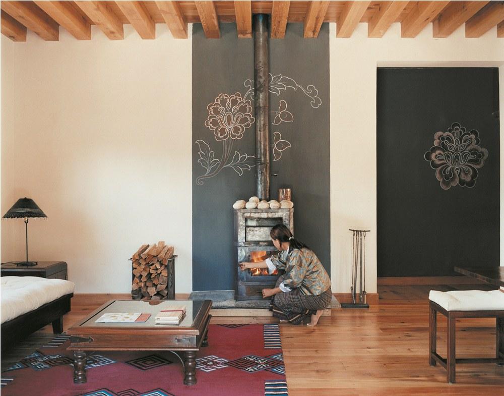 壁爐/COMO Hotels and Resorts/帕羅河谷/不丹/奢華旅宿