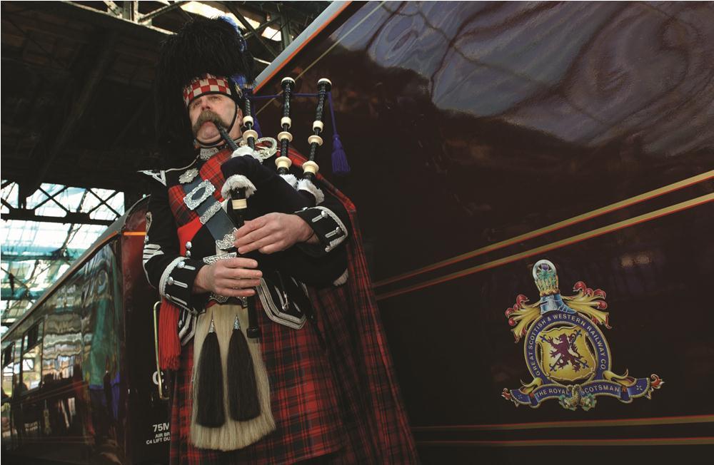 皇家蘇格蘭人號/愛丁堡/英國/旅遊/鐵道