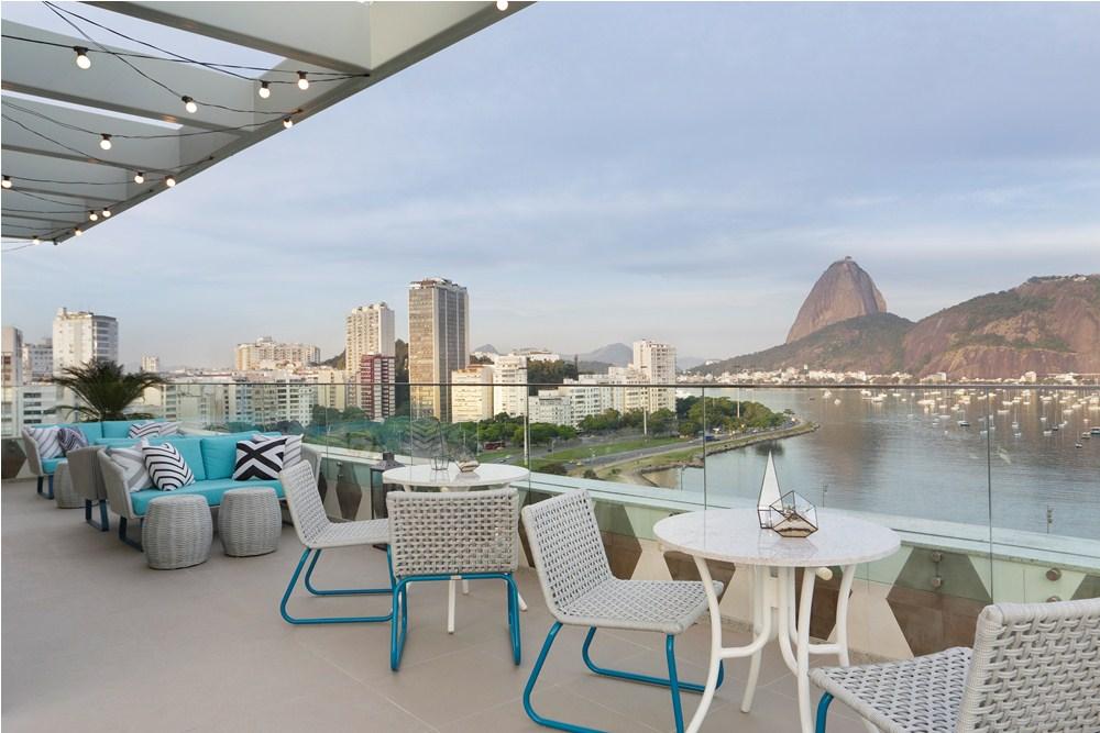 露臺/Yoo2 Rio de Janeiro/里約/巴西/絕景飯店