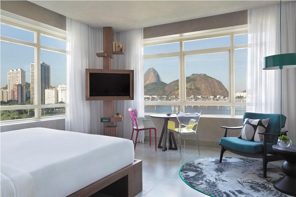 客房/Yoo2 Rio de Janeiro/里約/巴西/絕景飯店