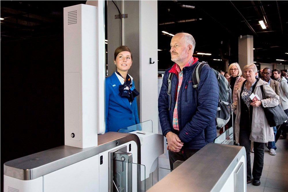 登機系統/生物辨識/Amsterdam Schiphol Airport/阿姆斯特丹/荷蘭皇家航空/