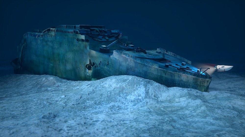 鐵達尼號/OceanGate/Dive the Titanic/Blue Marble Privat