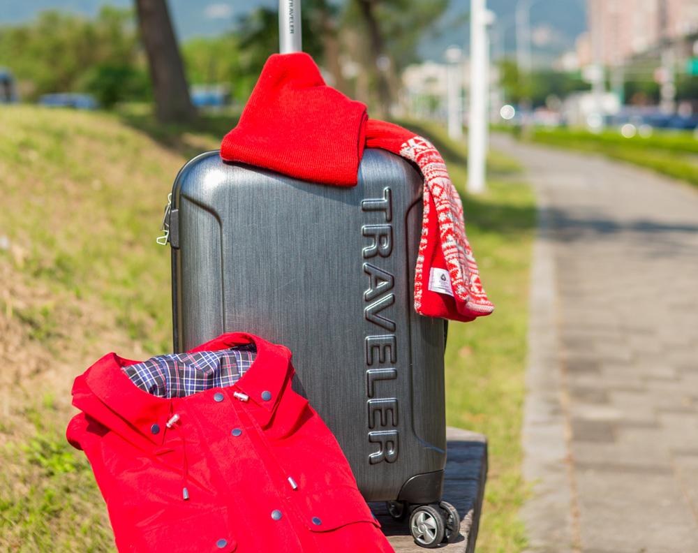 TRAVELER 19吋輕感防震旅行箱,TRAVELER GORE-TEX 女款防水外套,TRAVE