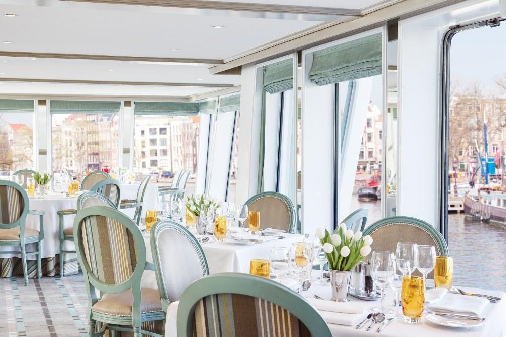 餐廳/Queen Isabel/Uniworld/多羅河河谷/葡萄牙/郵輪旅遊