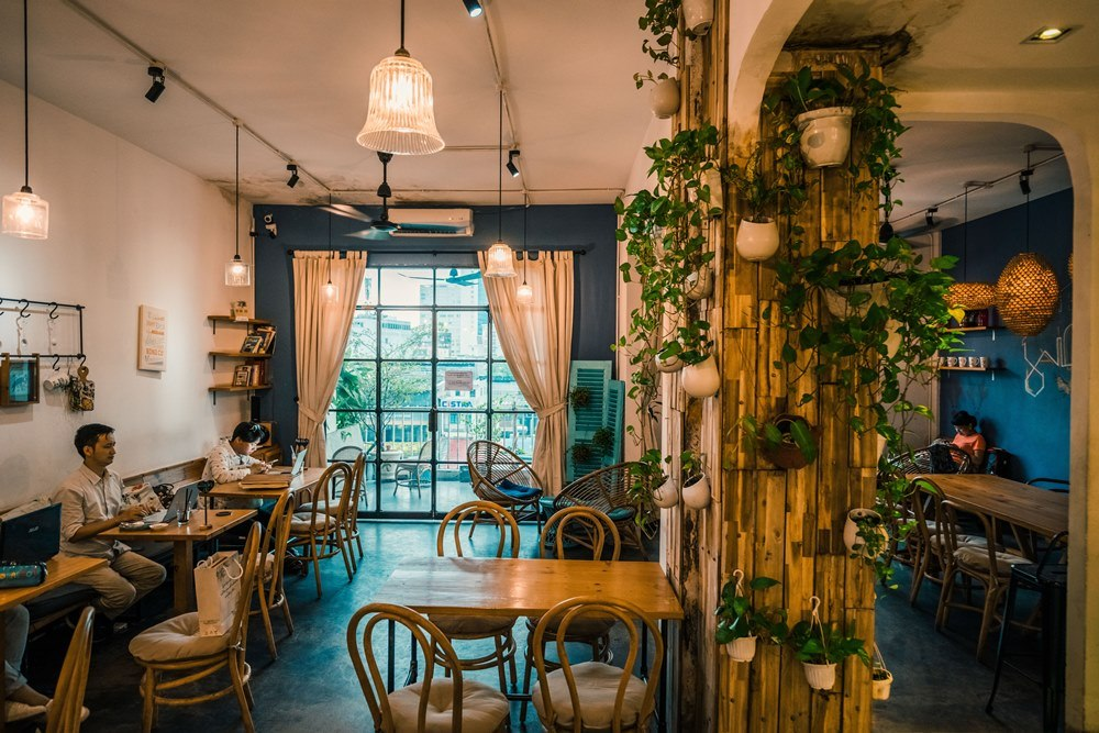The Cafe Apartment /胡志明市/越南/美食/咖啡