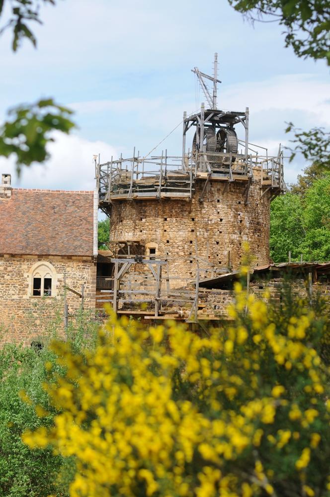 Guédelon Castle/勃根地/法國/旅遊/古堡