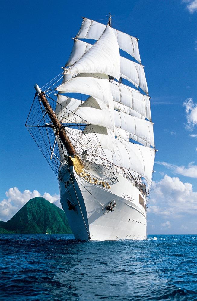 SEA CLOUD and SEA CLOUD II sail together/海雲號/郵輪/旅遊