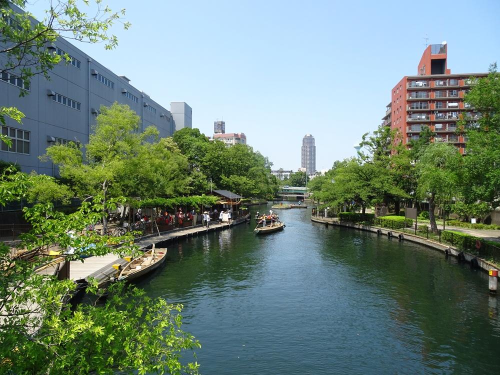 横十間川親水公園/旅遊/東京/日本
