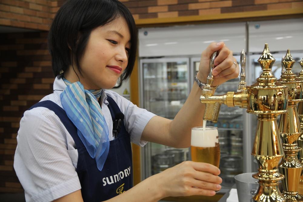サントリー武蔵野ブルワリー見学/旅遊/東京/日本