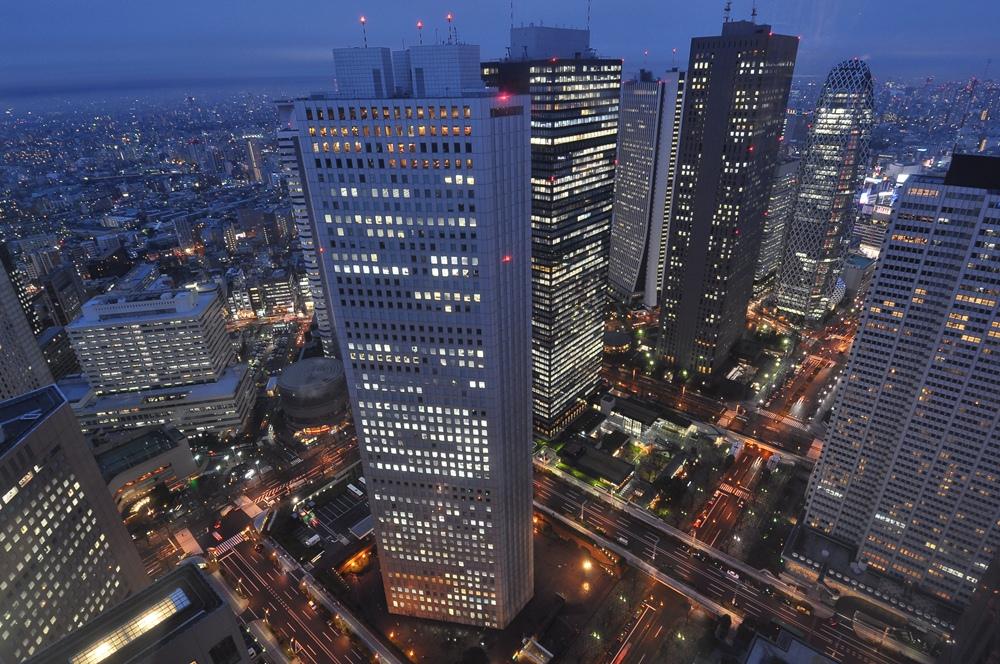 都庁展望台東京夜景