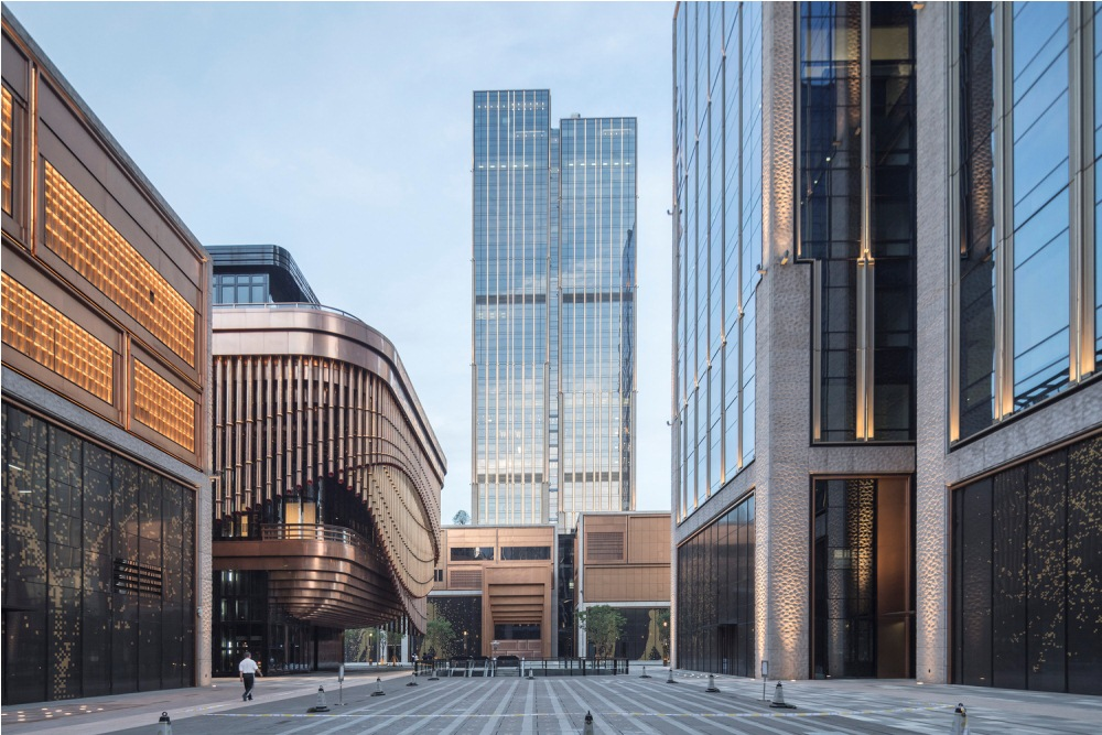 上海外灘金融中心/上海/中國/建築