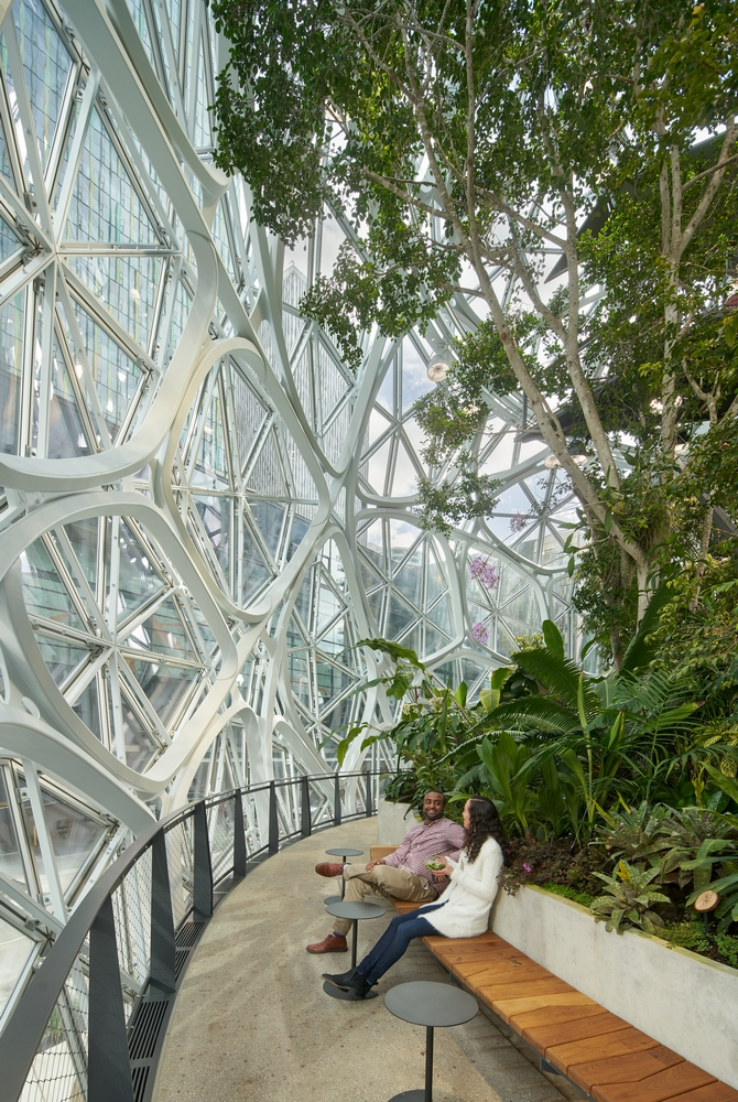 Amazon Seattle The Spheres/西雅圖/美國/亞馬遜