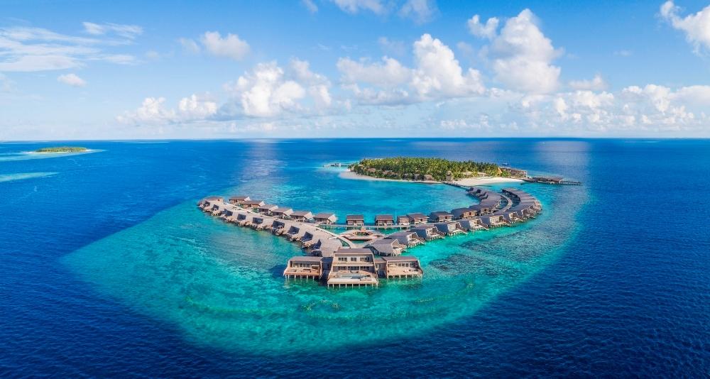 馬爾地夫飯店-St. Regis Maldives Vommuli Resort遠景