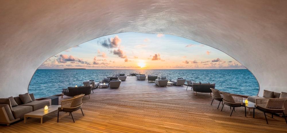 馬爾地夫飯店St. Regis Maldives Vommuli Resort海景