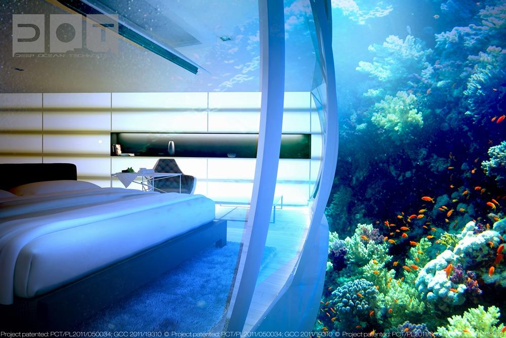 杜拜海底飯店Water Discus Hotel