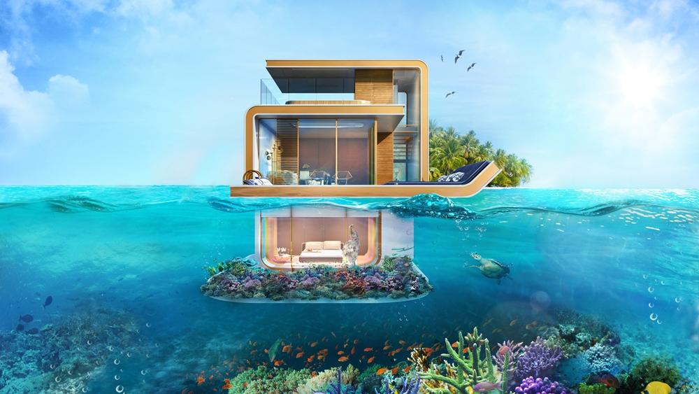 The Floating Seahorse飯店示意圖