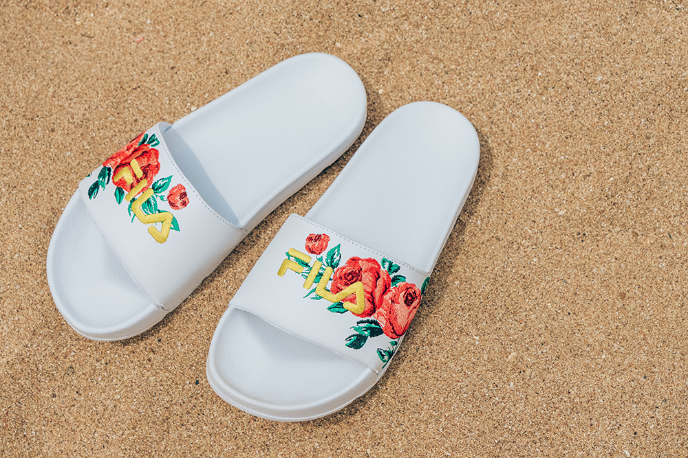 FILA Embroidery Pack 花樣年華清亮女拖鞋