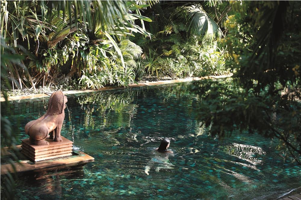 入住La Residence d'Angkor