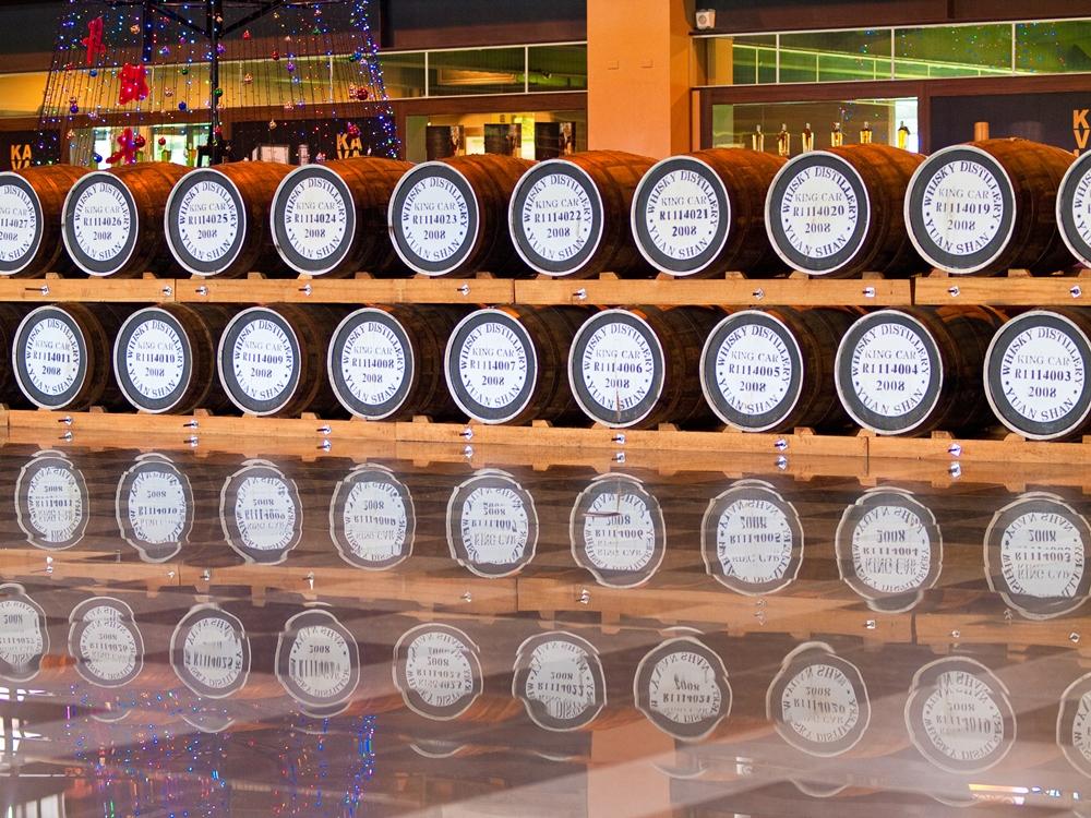 宜蘭金車威士忌酒廠