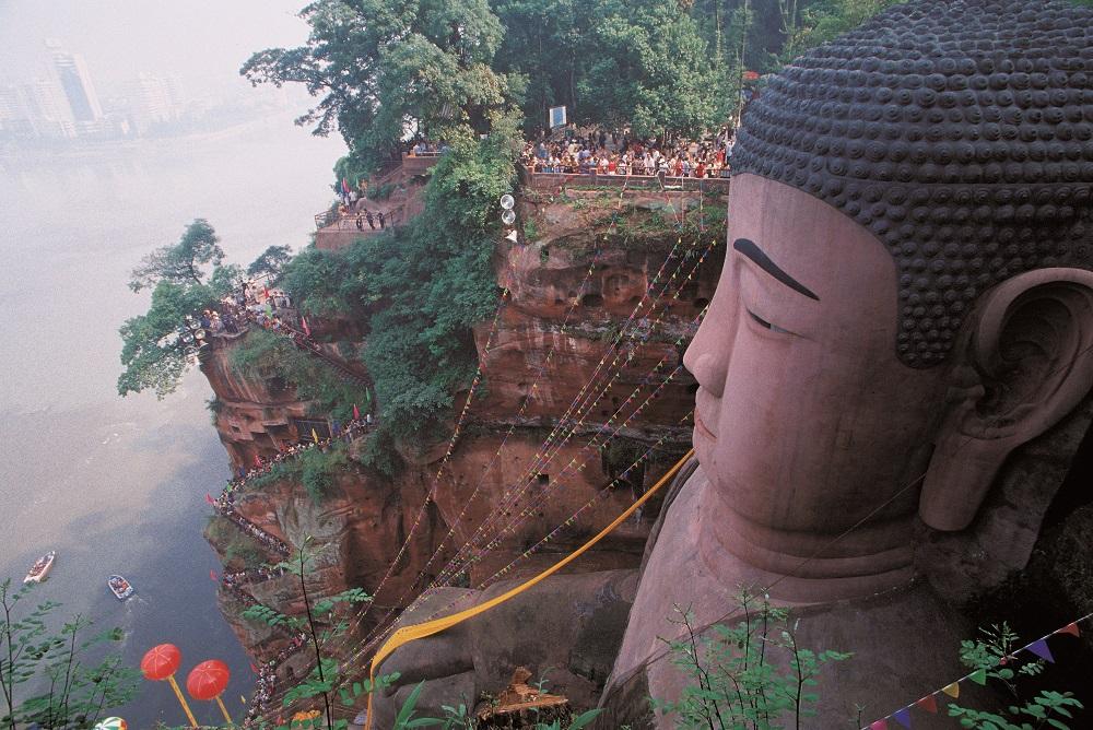 樂山大佛,莫高窟,布達拉宮,婆羅浮屠,蒲甘佛寺