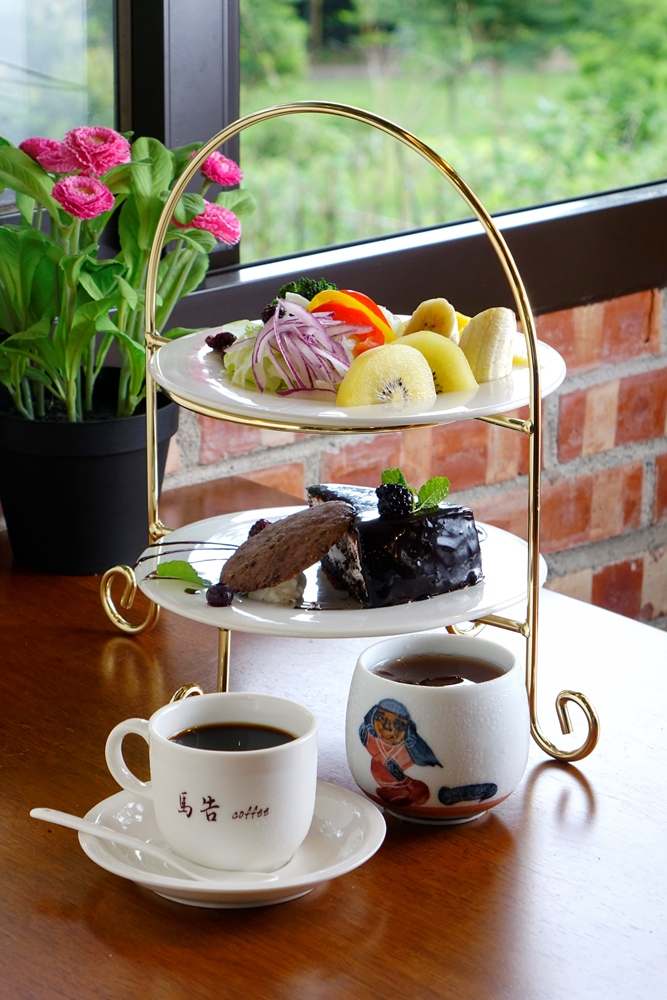 鑫園馬告咖啡館的下午茶