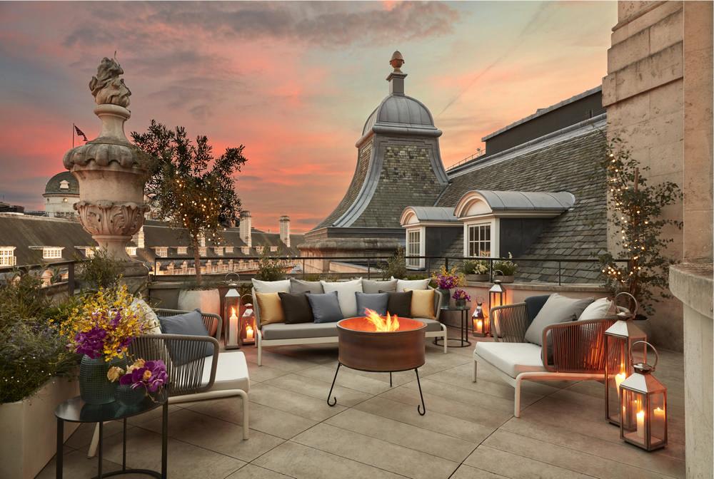 Hotel Café Royal London Dome Penthouse