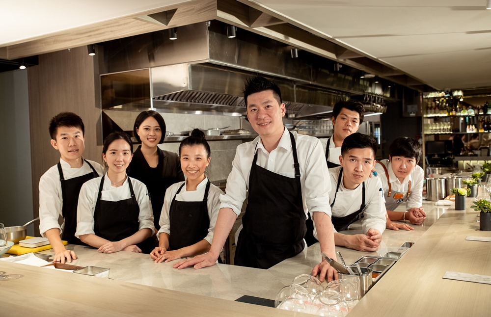 Chef Paul與他的團隊