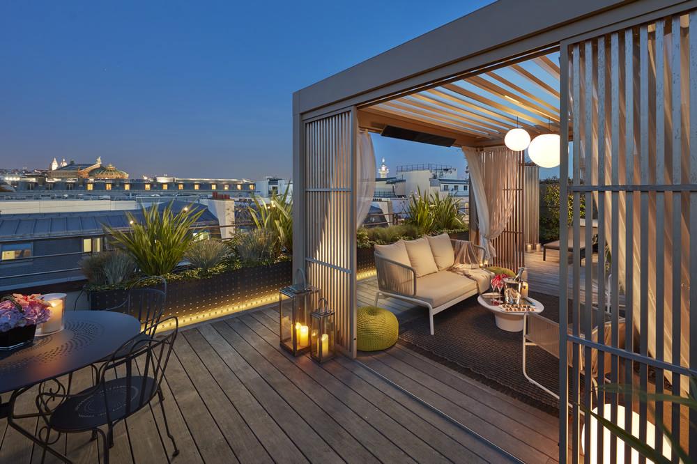 Mandarin Oriental, Paris Penthouse Floor/巴黎/法國/閣樓旅
