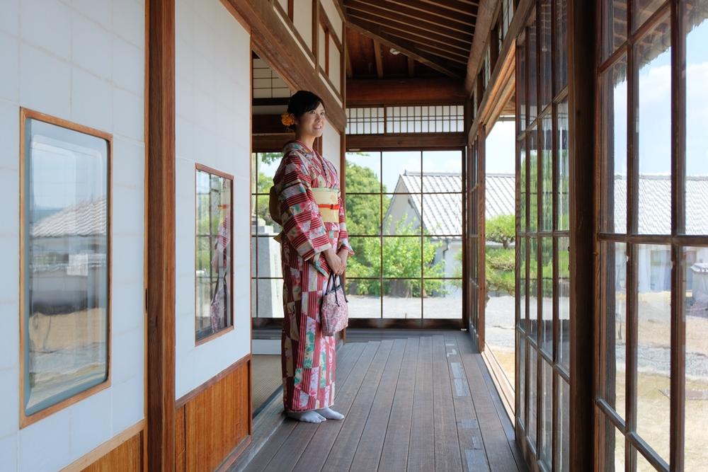 曾歷任日本厚生、建設大臣等重責的一松定吉的居所