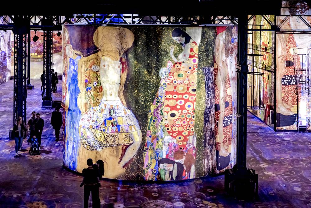 Atelier des Lumières/巴黎/法國/數位藝術館/藝廊
