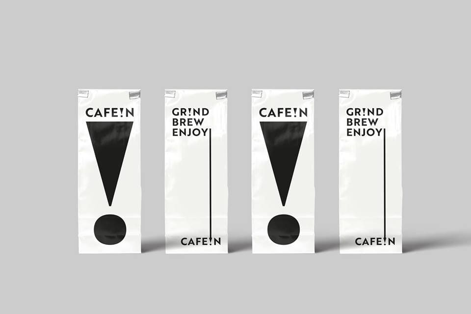 CAFE!N 硬咖啡/ 川久保玲的御用藝術家 Filip Pagowski/彎月塗鴉/咖啡品牌/咖啡