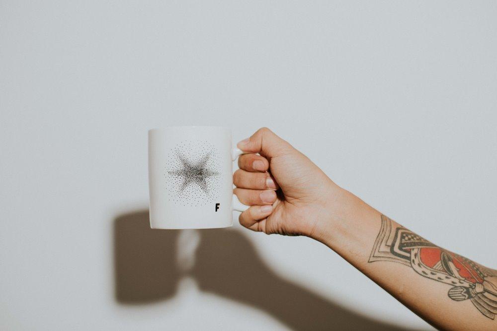 獨家限定/星星 Star咖啡杯/CAFE!N 硬咖啡/咖啡品牌/東區咖啡廳/忠孝東路/台北/台灣