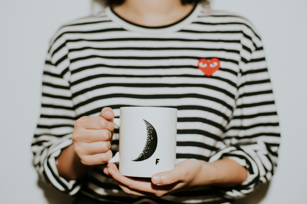 獨家限定/月亮 Moon咖啡杯/CAFE!N 硬咖啡/咖啡品牌/東區咖啡廳/忠孝東路/台北/台灣