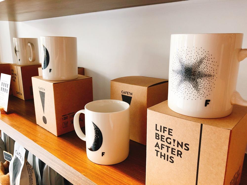 限量發行的星月馬克杯/CAFE!N 硬咖啡/咖啡品牌/東區咖啡廳/忠孝東路/台北/台灣
