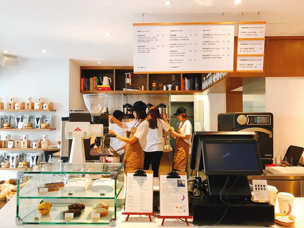 櫃檯/CAFE!N 硬咖啡/咖啡品牌/東區咖啡廳/忠孝東路/台北/台灣