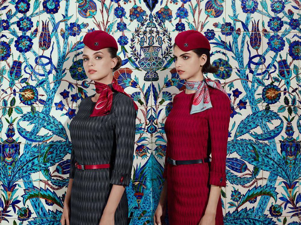 Turkish Airlines Uniform Design