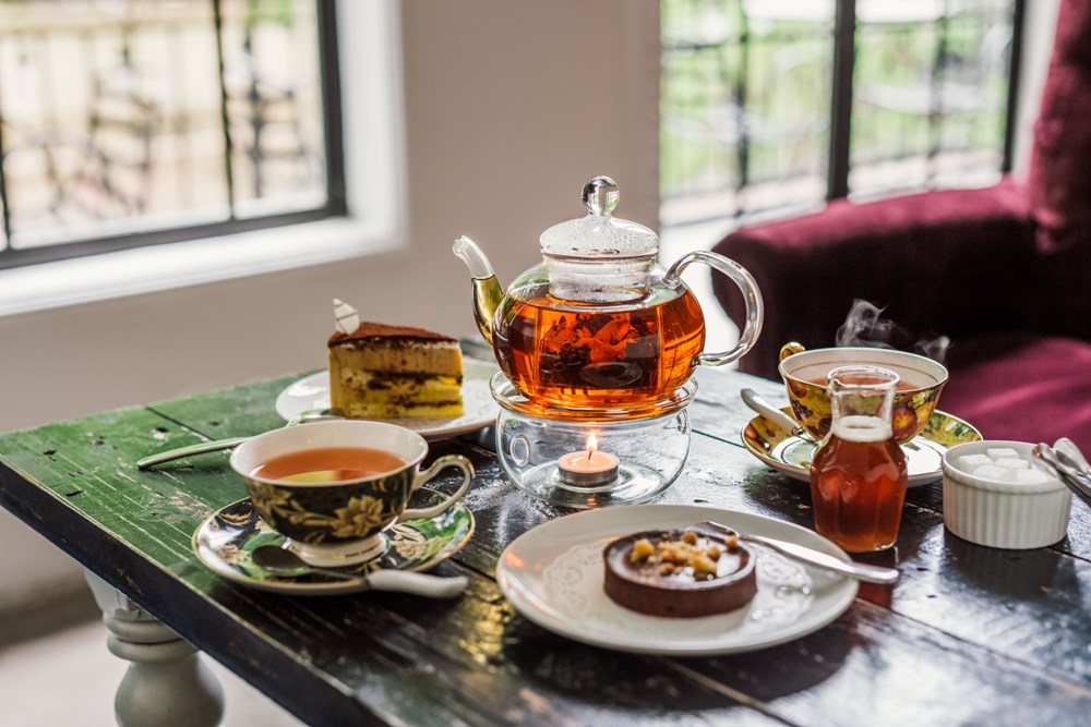 符合越南人口味的英式下午茶