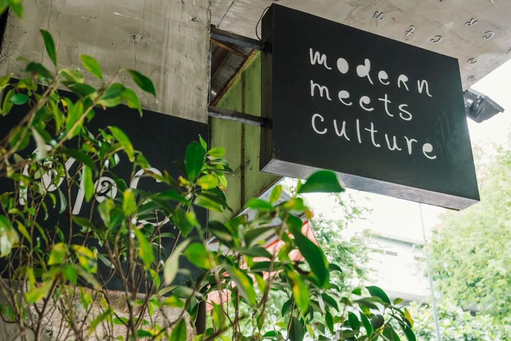 新舊文化融合的 M2C Cafe