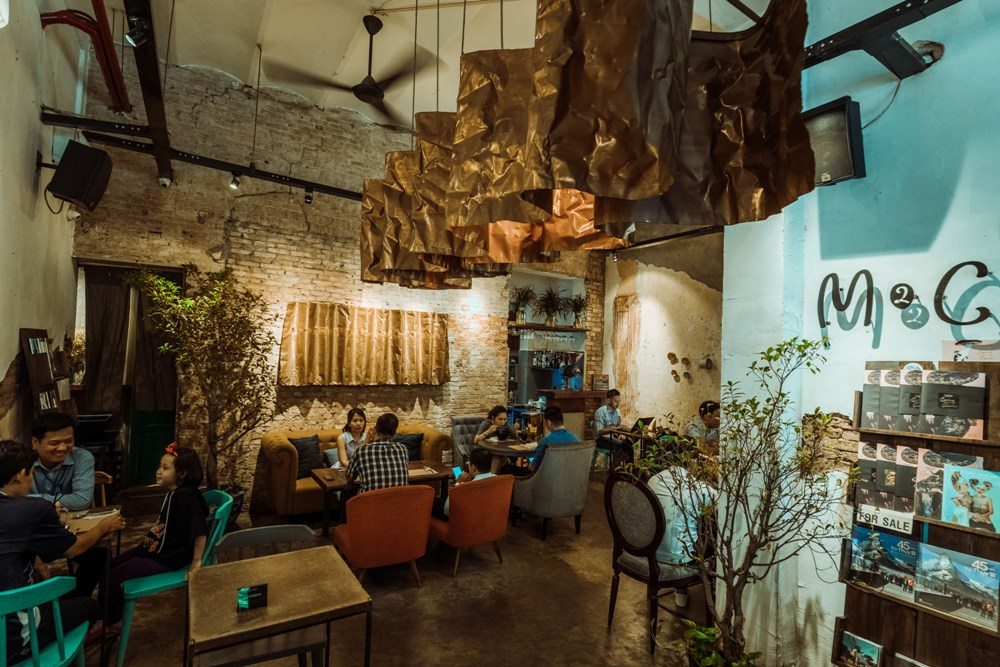 復古創新的 M2C Cafe