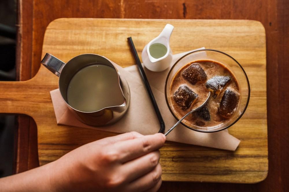 獨創咖啡冰塊的越南咖啡