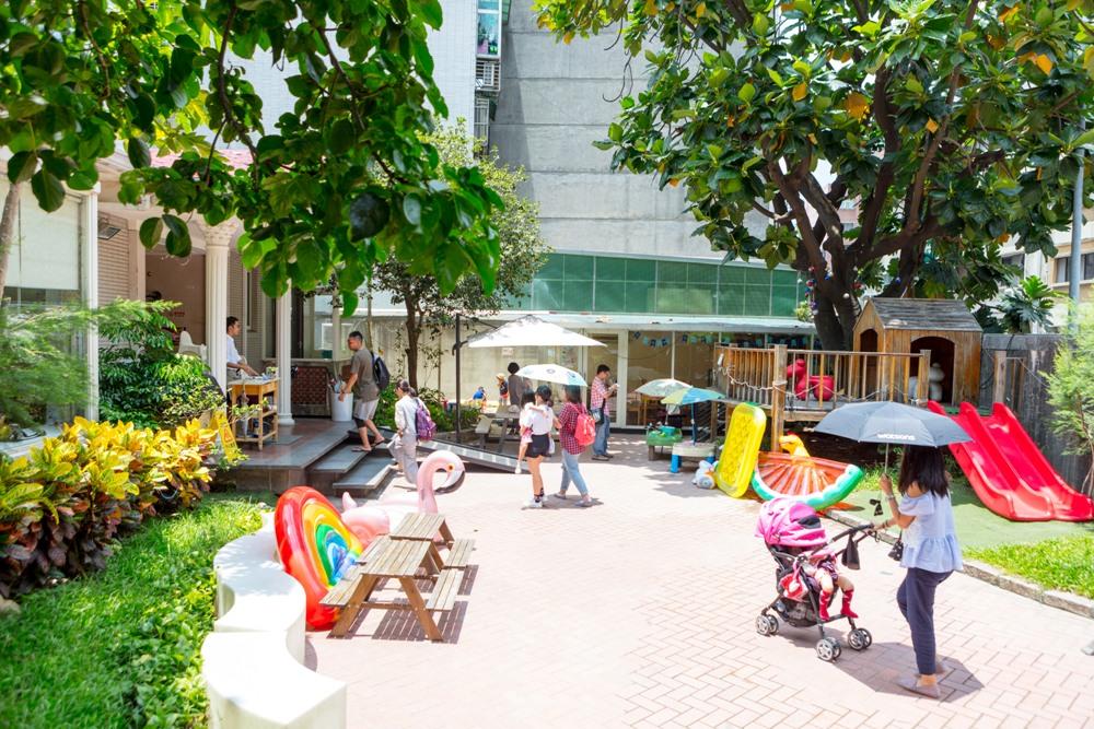 庭院 /親子餐廳/大樹先生的家/台北