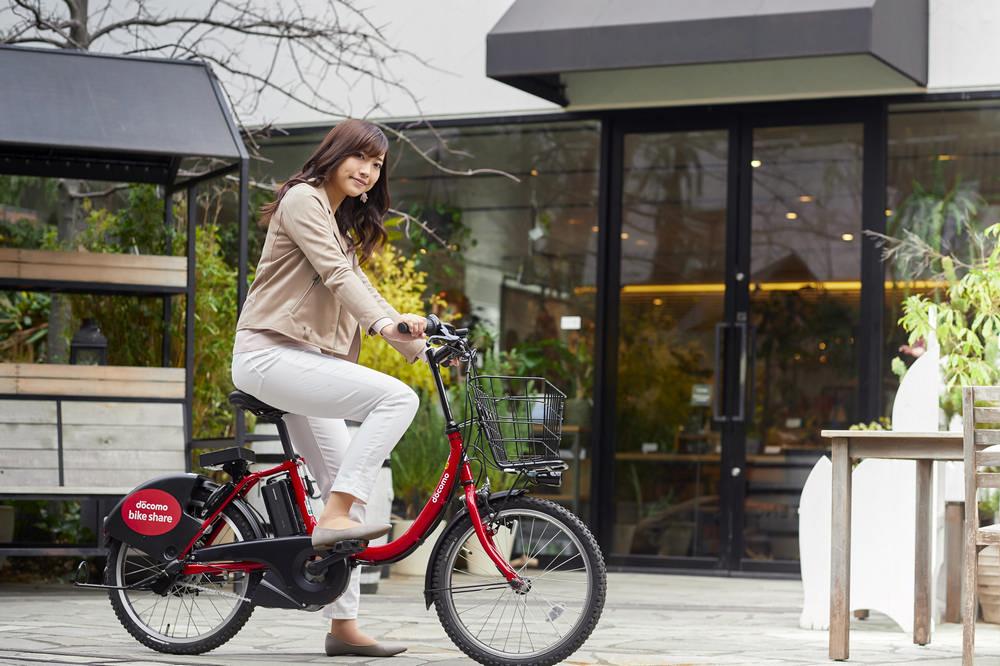 docomo bikeshare/共享自行車/東京/日本
